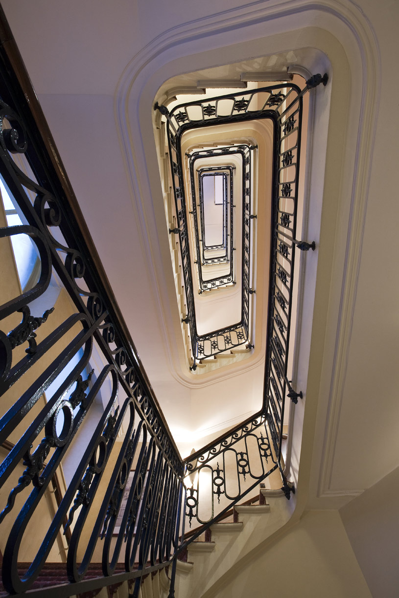Stairs at Grand Palais Royale Hotel