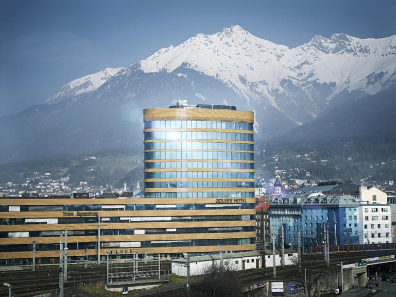 Exterior of Adlers Hotel Innsbruck Hotel