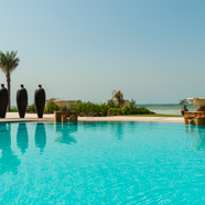 Pool at The Ajman Saray Hotel