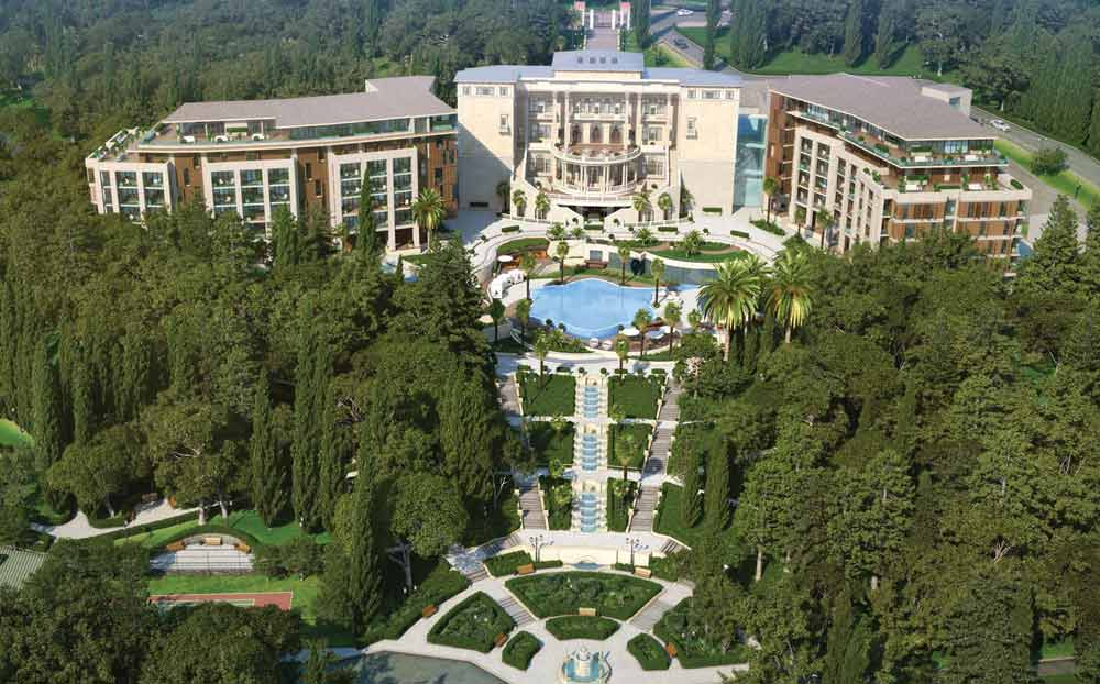 Overview of Swissotel Sochi Kamelia
