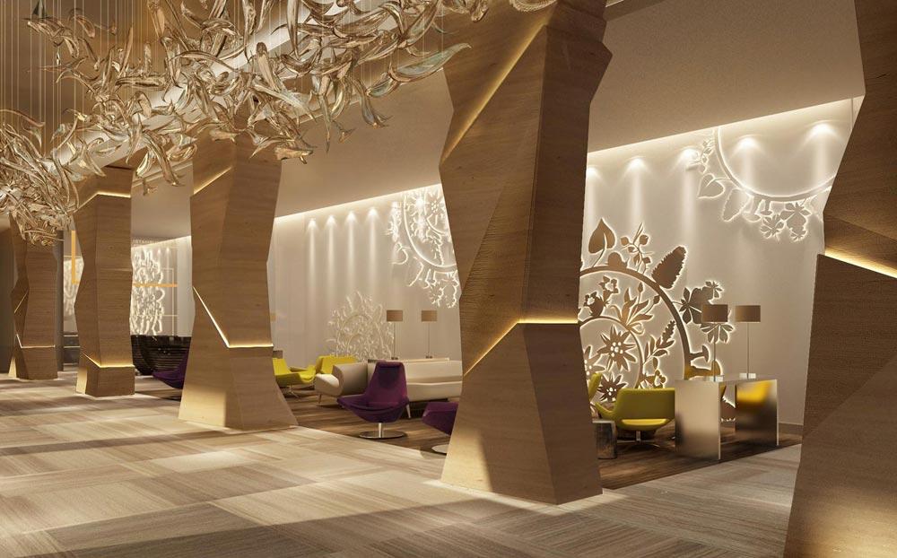 Lounge at Swissotel Sochi Krasnaya