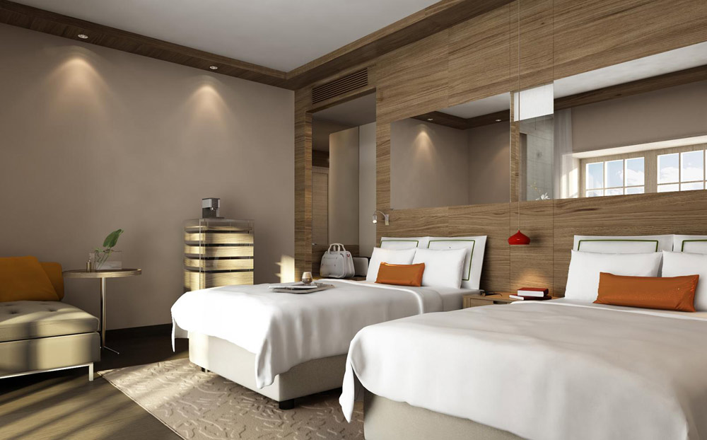Double Guest Room at Swissotel Sochi Krasnaya
