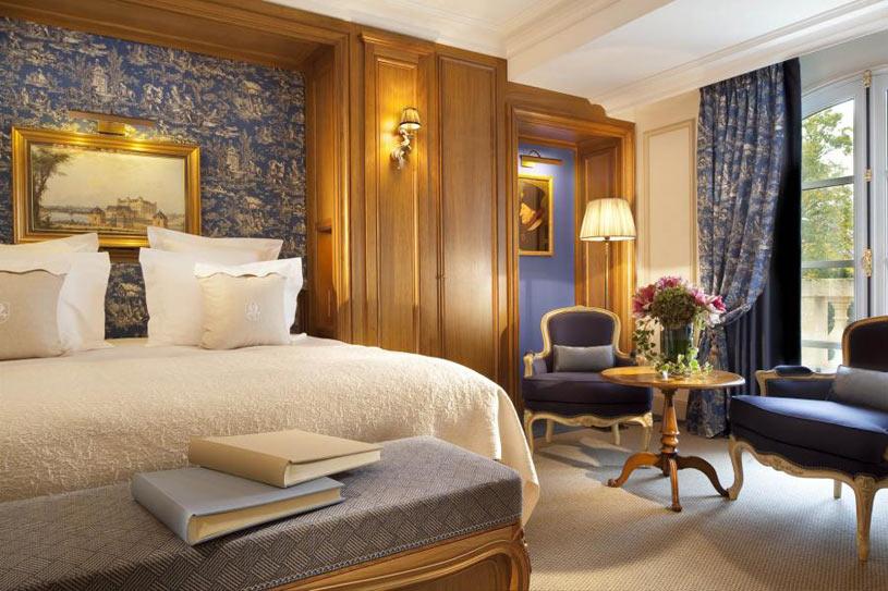 Suite at The Auberge Du Jeu De Paume Hotel