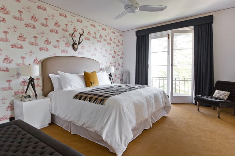 Bed Corner at Palihouse Santa Monica