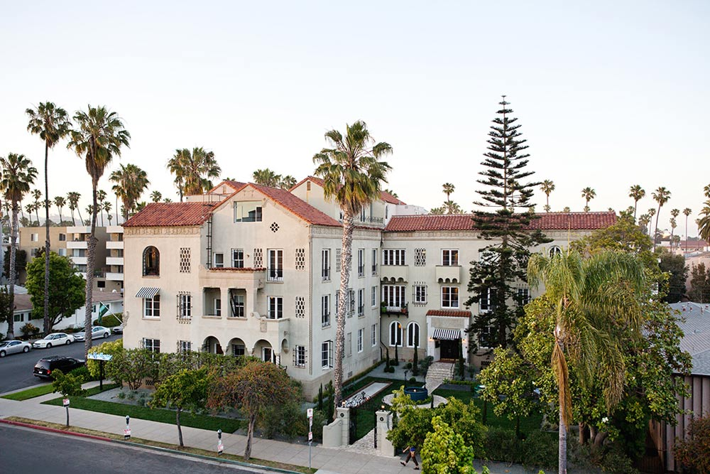 Exterior of Palihouse Santa Monica