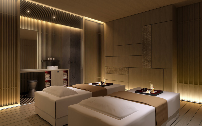 Spa Treatment Room at The Ritz Carlton Kyoto
