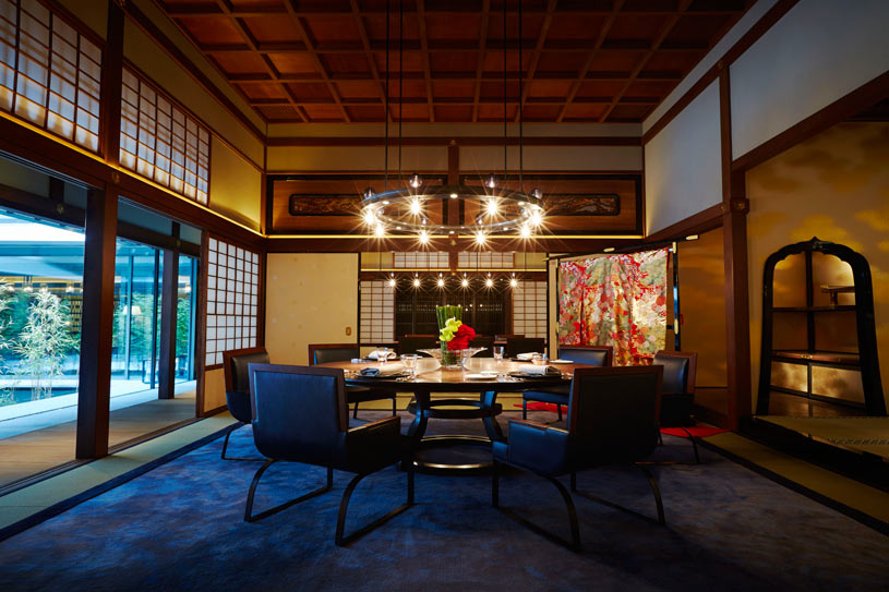 Dining at The Ritz Carlton Kyoto