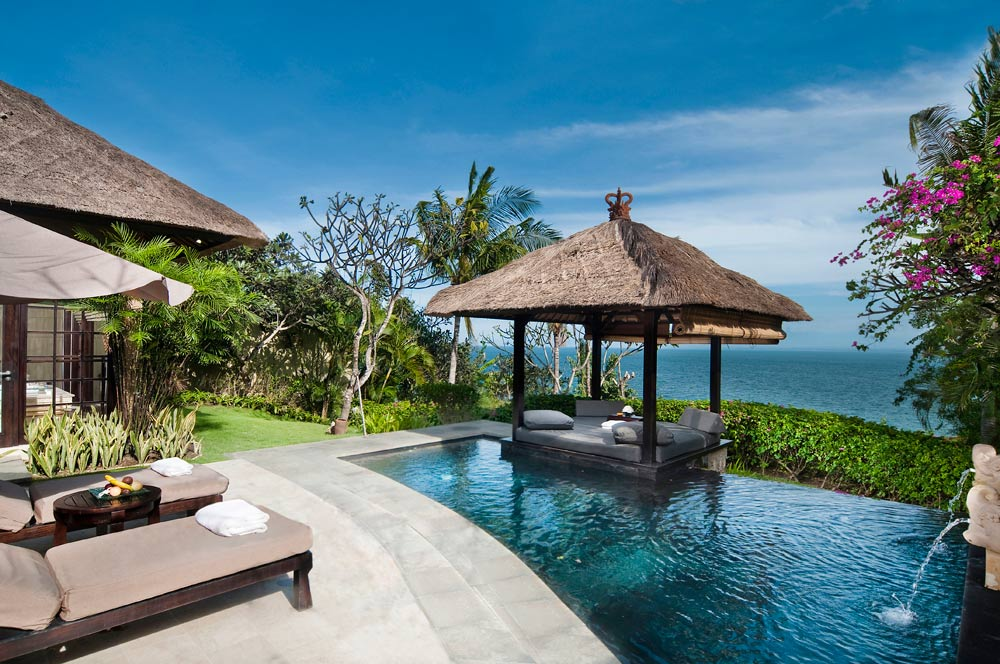 Ocean Front Cliff Villa with Plunge Pool at RIMBA Jimbaran Bali, Indonesia