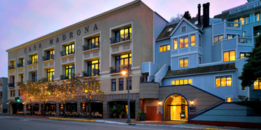 Exterior of Casa Madrona Hotel and Spa
