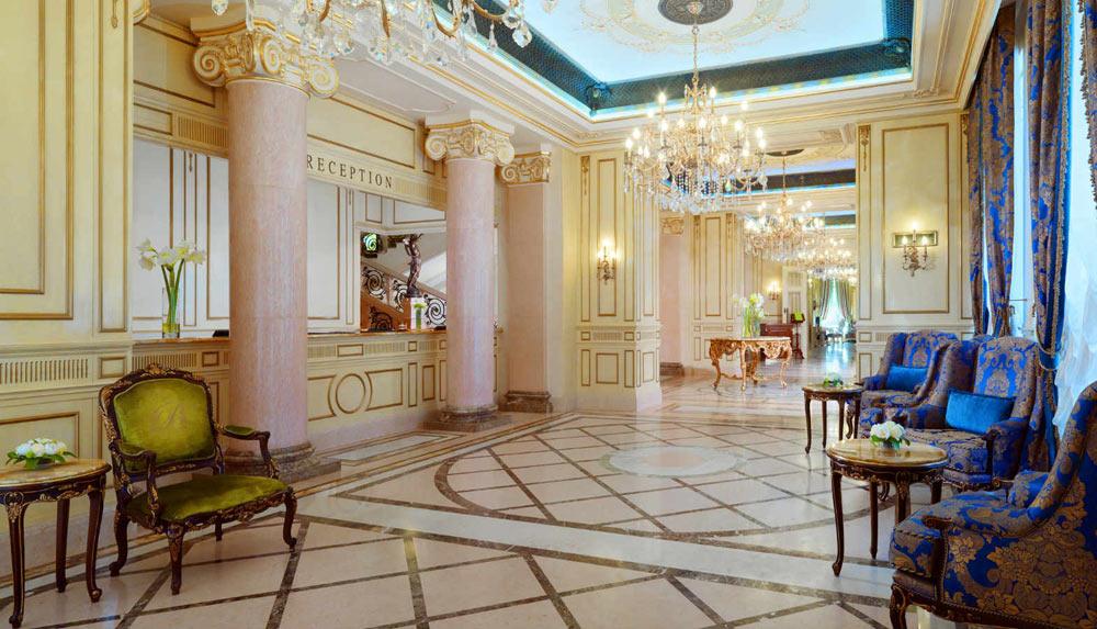 Lobby at Hotel Bristol Odessa