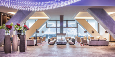 Lobby at InterContinental Davos