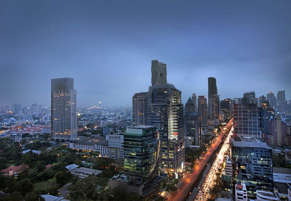 City View from the Sofitel So Bangkok