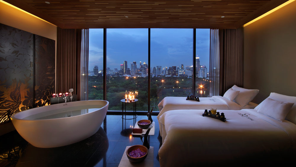 Spa Room at The Sofitel So Bangkok Hotel