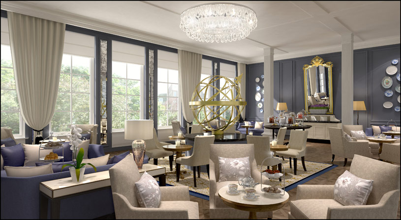 Tea Room at The Waldorf Astoria Amsterdam