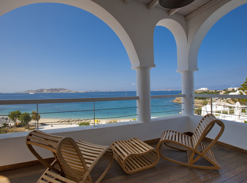 Superior Suite Terrace at Grace Mykonos