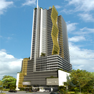 Grace Panama occupies the ground floor plus six upper floors of the Twist Tower office and hotel development in the heart of Panama City