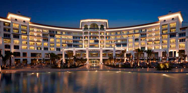 Exterior of Waldorf Astoria Dubai Palm Jumeirah