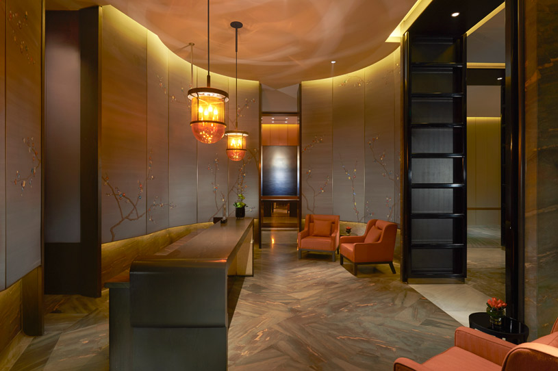 Reception at Waldorf Astoria Beijing