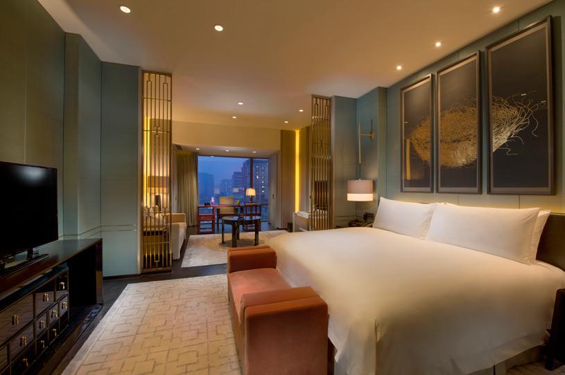 Guest Room at Waldorf Astoria Beijing