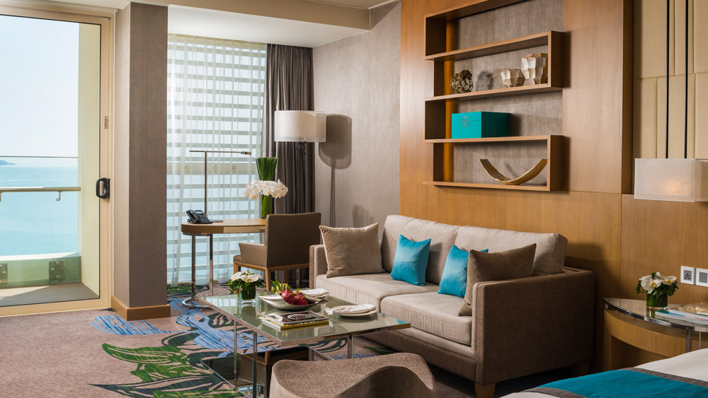 Suite Living Room at InterContinental Nha TrangVietnam
