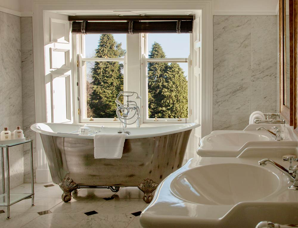 Bath at Cromlix House Hotel