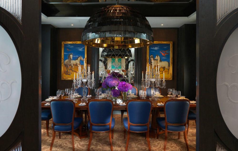 Presidential Suite Dining Room at Mandarin Oriental Taipei, Taiwan