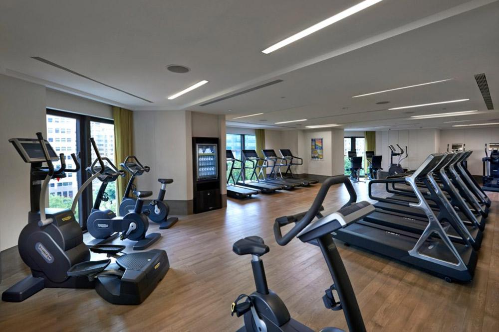 Fitness Center at Mandarin Oriental Taipei, Taiwan