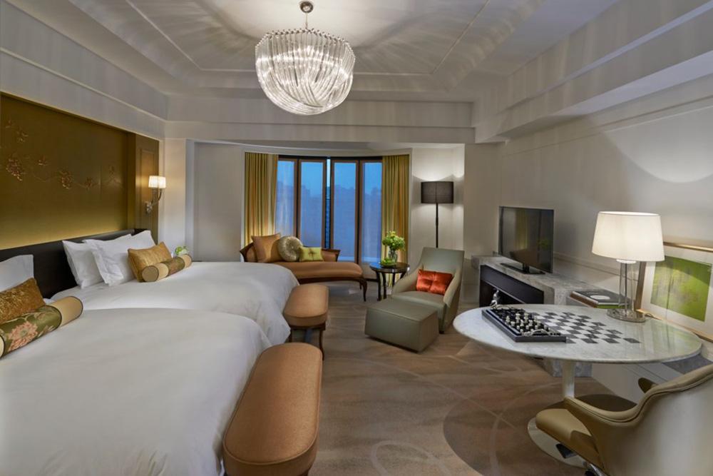 Deluxe Twin Room at Mandarin Oriental Taipei, Taiwan