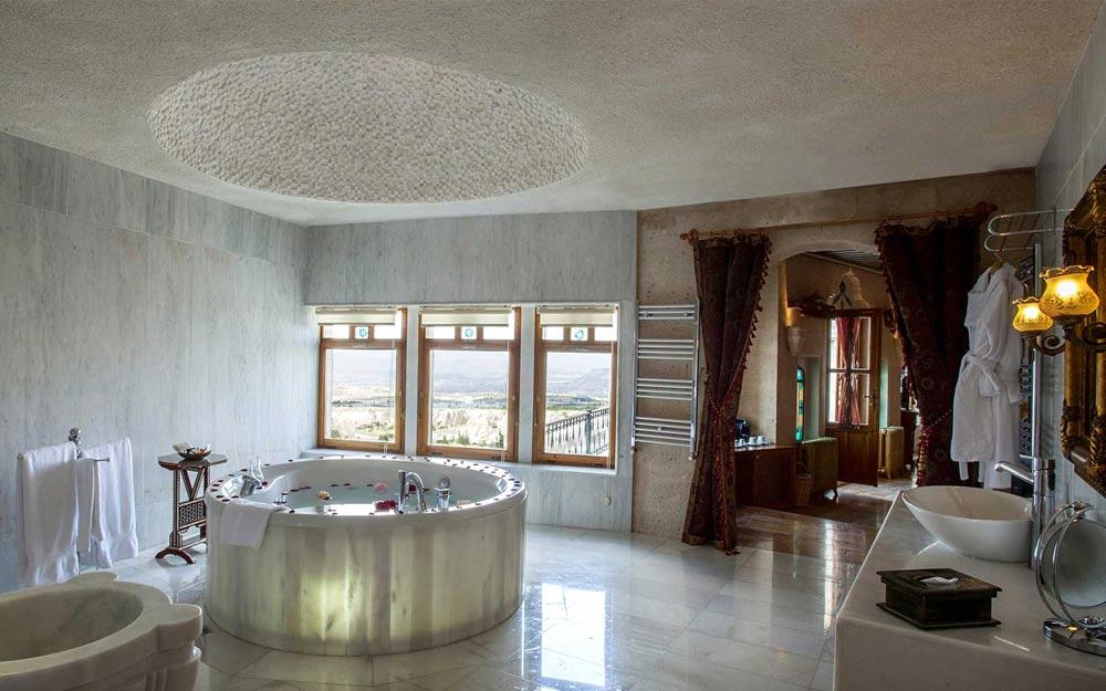 Kubbeli Suite Bath at Museum Hotel Cappadocia