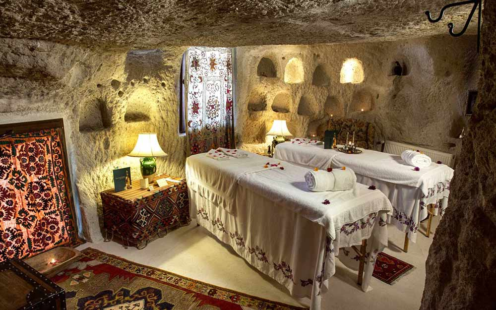 In-Room Massage at Cappadocia Museum Hotel