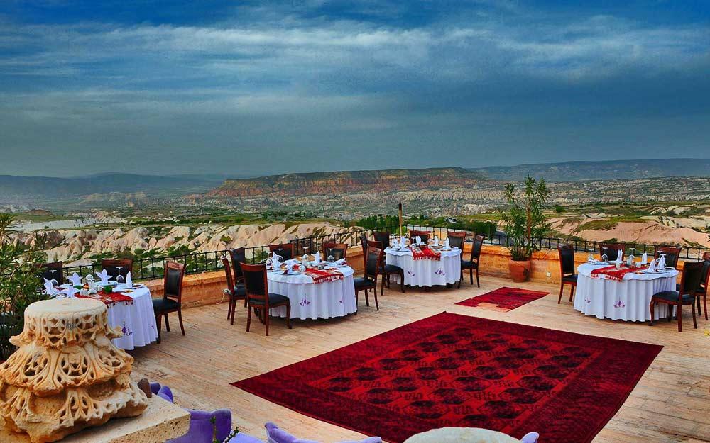 Museum Hotel Cappadocia Rooftop Terrace