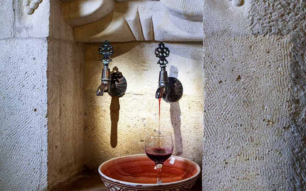 In-Room Wine at Museum Hotel Cappadocia