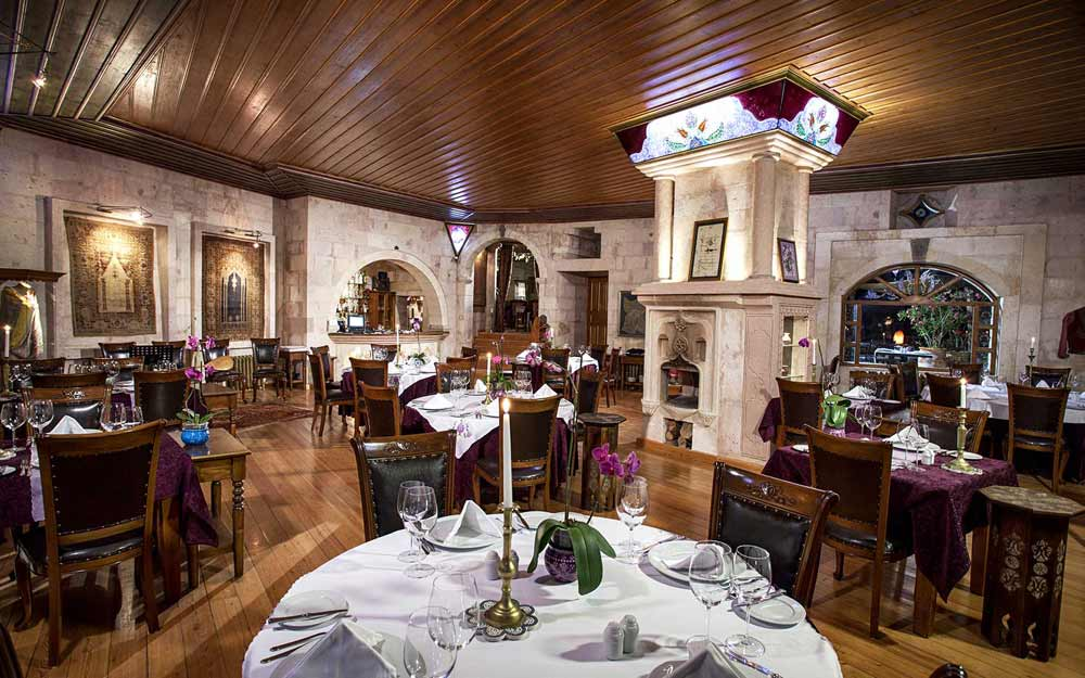 The Lila Restaurant at Museum Hotel Cappadocia