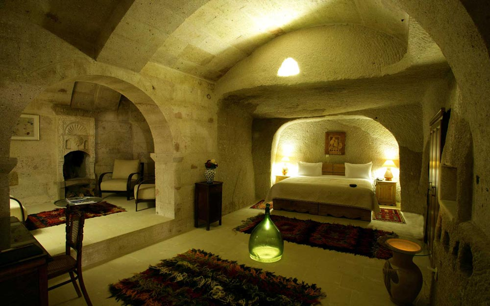 The Catalkaya Cave Suite at Museum Hotel Cappadocia