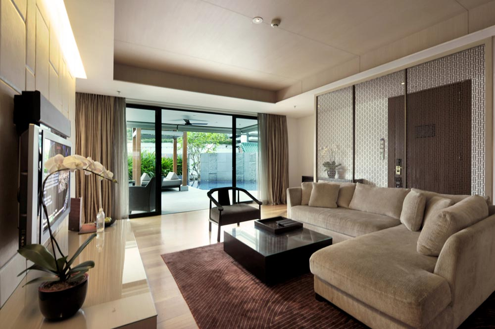 Tang Sok Kiar Suite Living Area at The Singapore Marriott Hotel