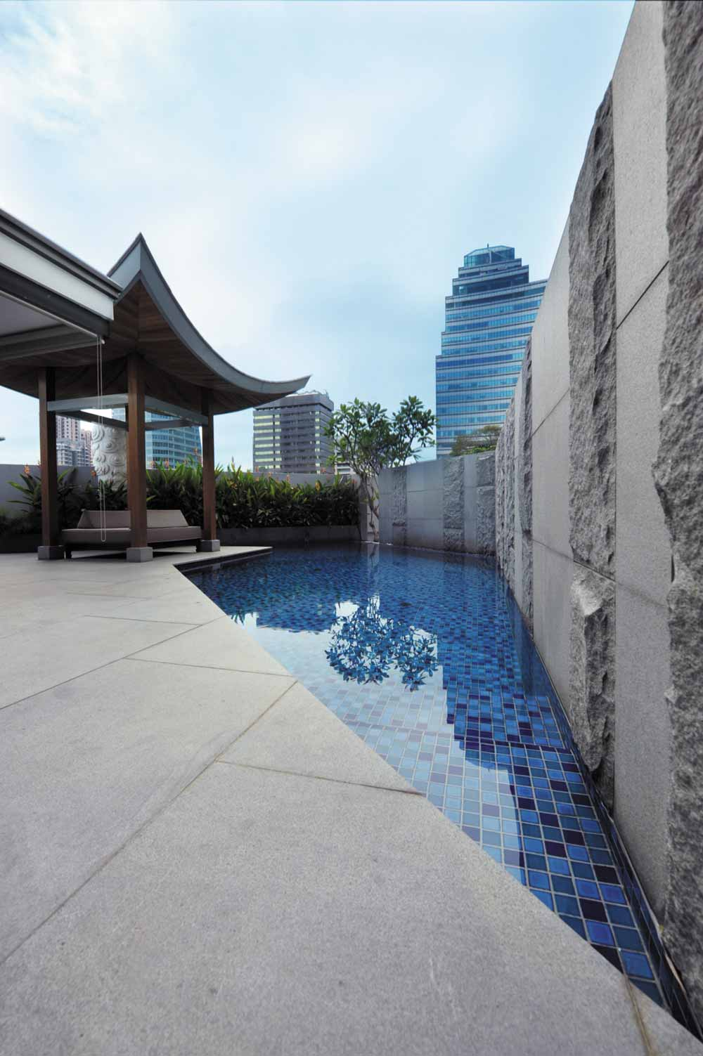 Tang Sok Kiar Suite Private Pool at The Singapore Marriott Hotel