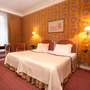 Twin Guest Room at Victoria Palace HotelParisFrance