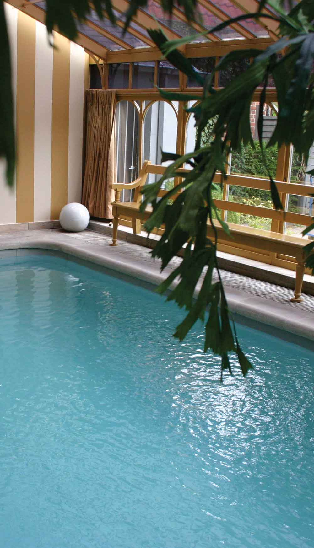Indoor Pool at Hotel De TuilerieenBruges