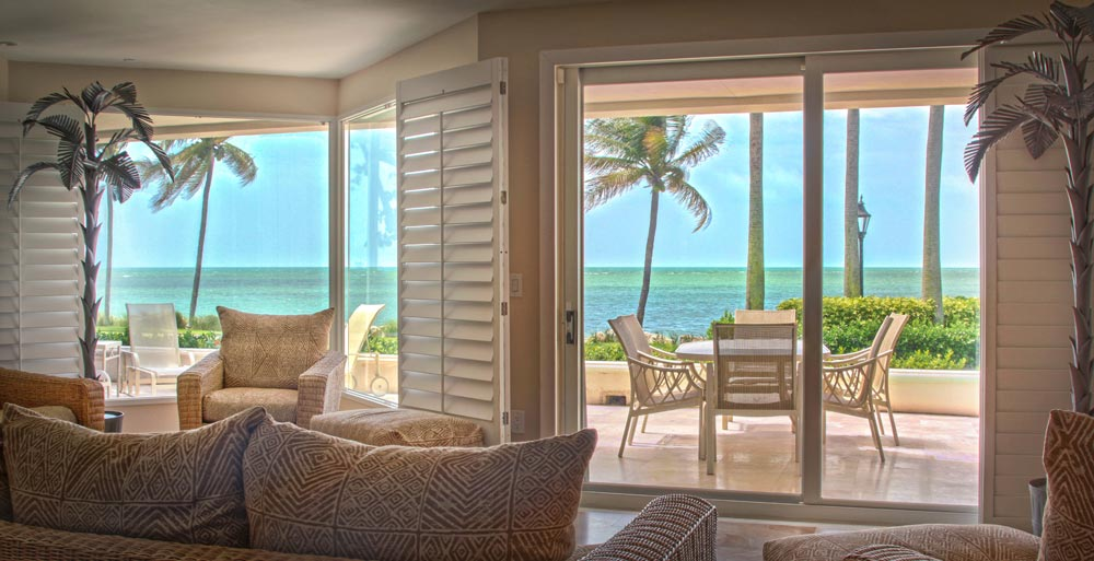 Three bedroom oceanfront suite at Provident Luxury Suites, Fisher Island, FL