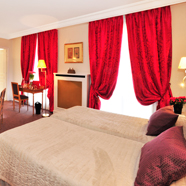 Deluxe Rooms with Lounge Area at Hotel Le Littre Paris