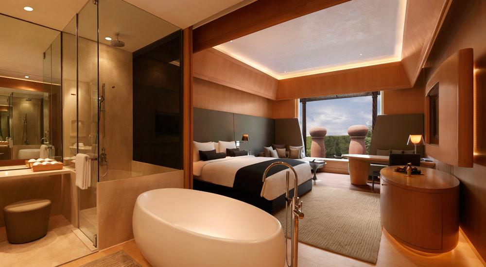 Premium Pool View Room at The Roseate New Delhi