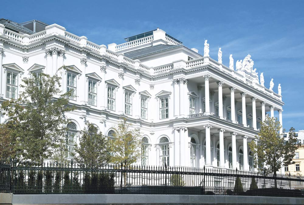 Exterior of Palais Coburg Residenz Vienna