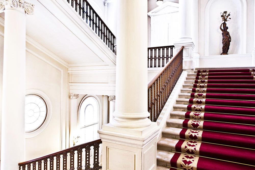 Staircase at Palais Coburg Residenz Vienna