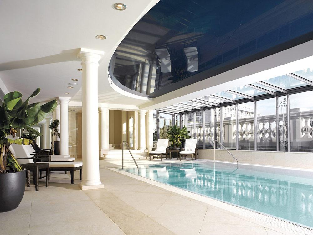 Pool at Palais Coburg Residenz Vienna