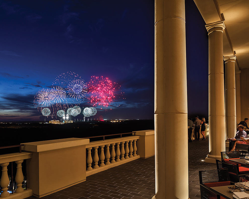 Capa Terrace Fireworks at Four Seasons Orlando