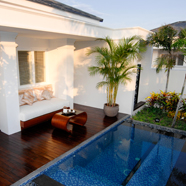 Private Villa Pool at Princess DAn Nam Resort & SpaKe Ga BayVietnam