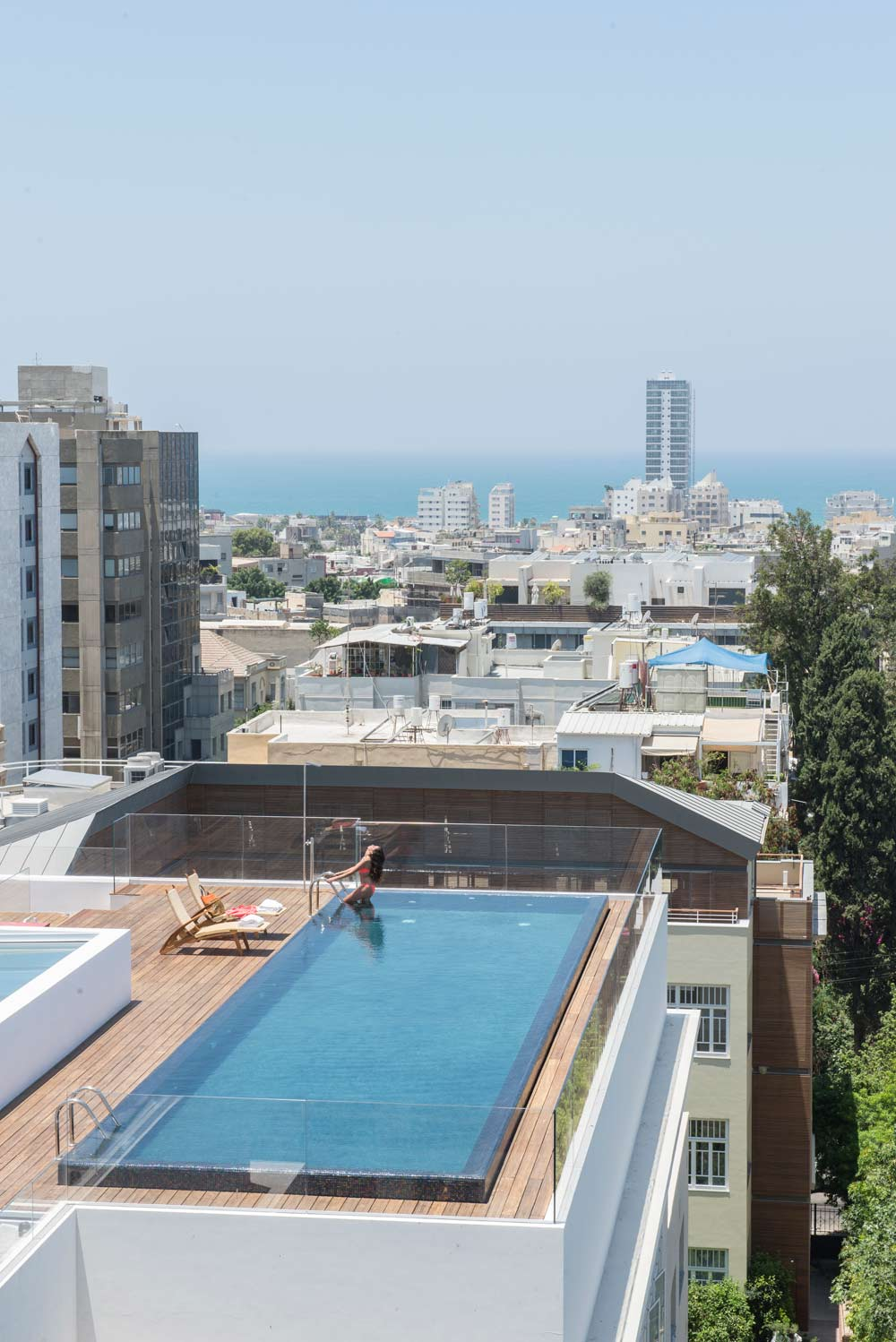 Rooftop Pool at The Norman Tel AvivIsrael
