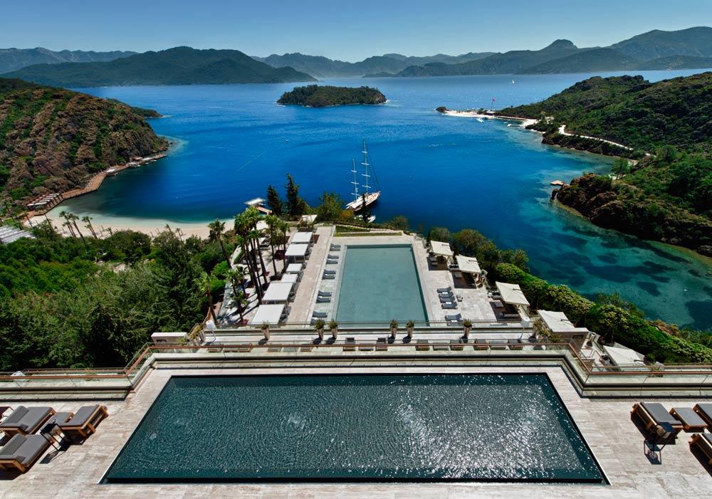 Panoramic Views at D-Hotel Maris, Turkey