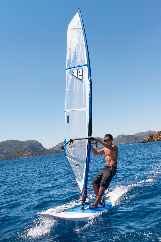 Wind Surfing Experience at D-Hotel Maris, Turkey