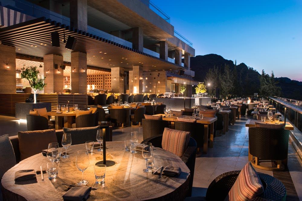 Terrace Dining at D-Hotel Maris, Turkey